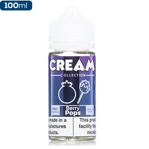 100ML E JUICE CREAM COLLECTION BERRY POPS