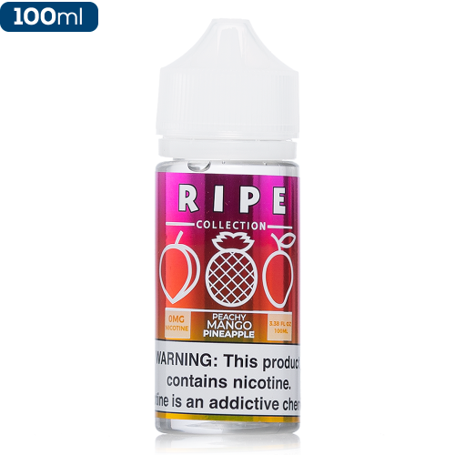 100ML E JUICE RIPE PEACHY MANGO PINEAPPLE