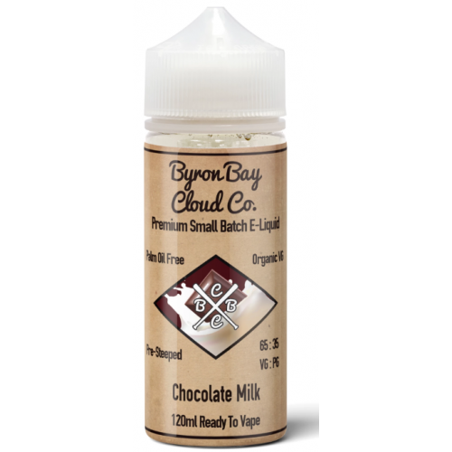 Byron Bay Chocolate Milk 120mL RTV E Juice