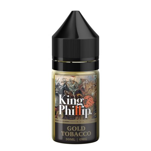 King Phillip - Gold Tobacco 30mL