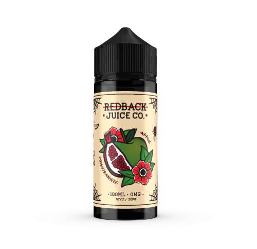 Redback Apple Pomegranate - 100ml