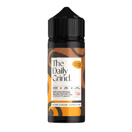 The Daily Grind Salted Caramel Cappuccino
