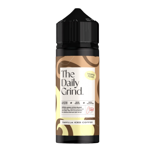The Daily Grind Vanilla Iced Coffee