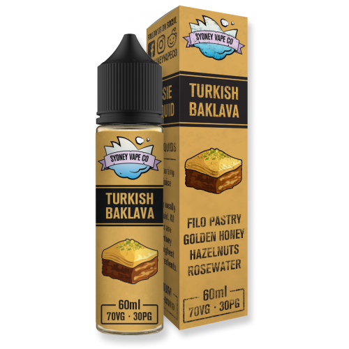 Sydney Vape Co. Turkish Baklava