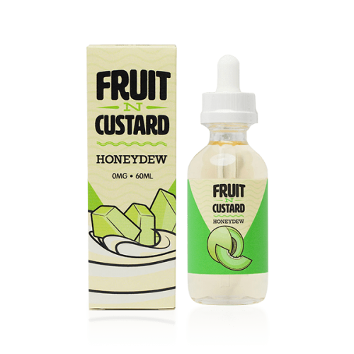60ML E JUICE FRUIT N CUSTARD HONEYDEW CUSTARD