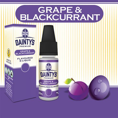 Daintys - Grape Blackcurrent 10ml