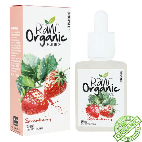 Raw Organic - Strawberry 30ml