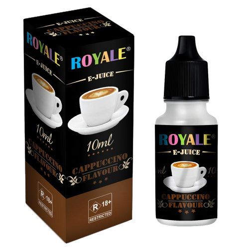Royale Cappuccino Flavoured 10Ml