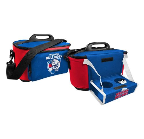 85f69af51bd AFL Western Bulldogs Cooler Bag With Tray Flat Pack