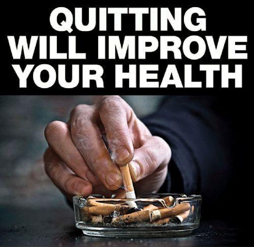 Ashtray Standing No Smoking Sign