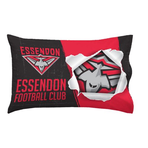 AFL Essendon Double Sided Pillow Case