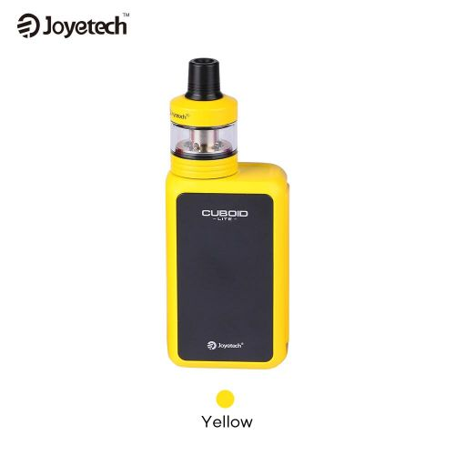 Joyetech Cuboid Lite With Exceed D22 Tc 80W 3000Mah Yellow Vape Kit