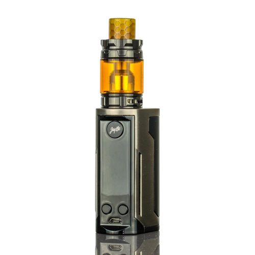 Wismec Reuleaux Rx Gen3 Dual With Gnome King 230W 5.8ml Brush Gunmetal Vape Kit