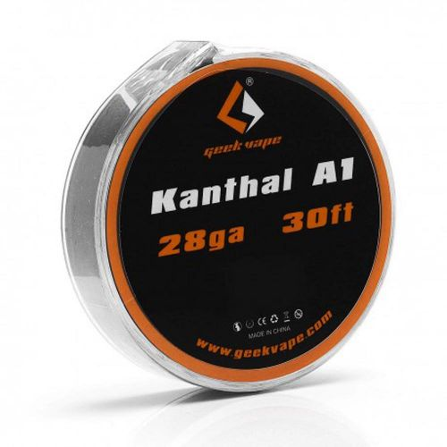 Vape Atomizer Geekvape Diy Kanthal A1 Tape Wire 30Ft (28Ga)