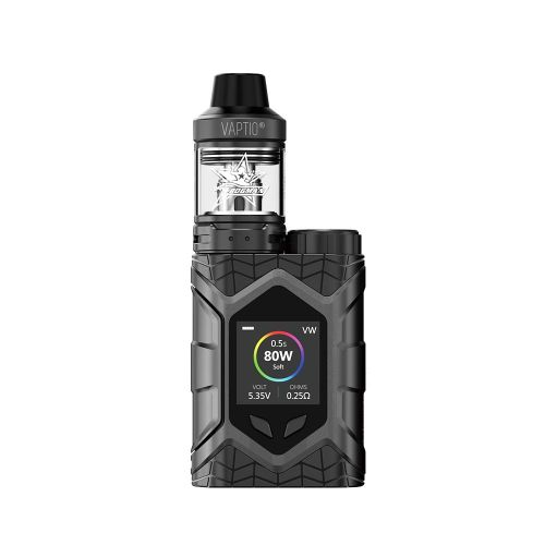 Vaptio Wall Crawler Black Vape Kit