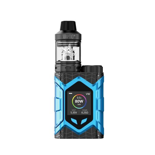 Vaptio Wall Crawler Blue Vape Kit