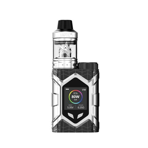 Vaptio Wall Crawler Silver Vape Kit