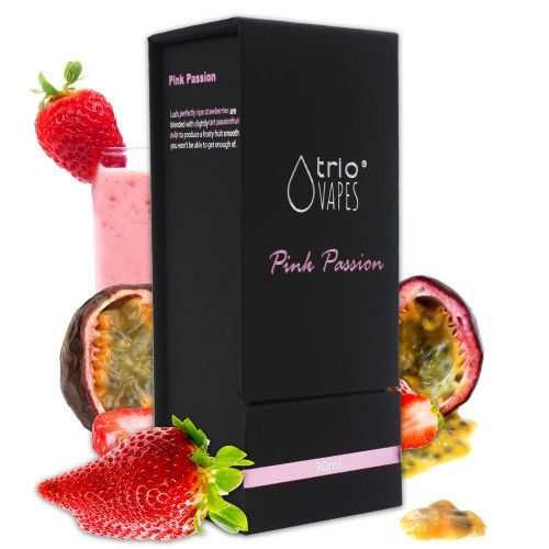 30ml E Juice Trio Premium Pink Passion