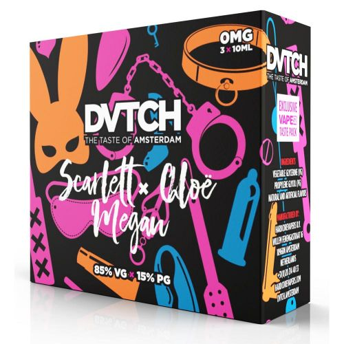 30ml E Juice Dvtch Taste Pack Escort 3 X 10ml