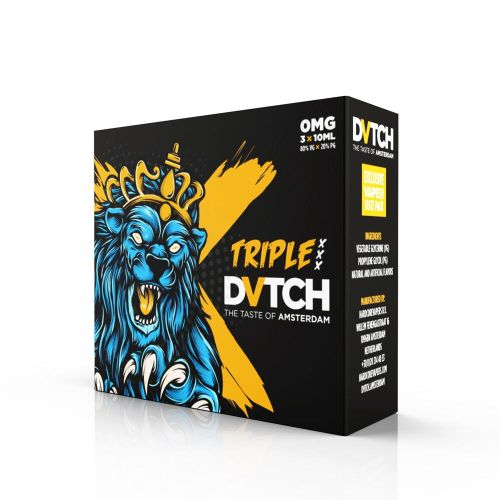 30ml E Juice Dvtch Taste Pack Triple X 3 X 10ml