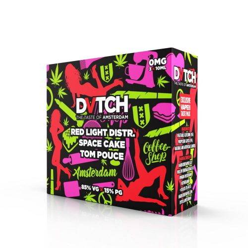 30ml E Juice Dvtch Taste Pack Original 3 X 10ml