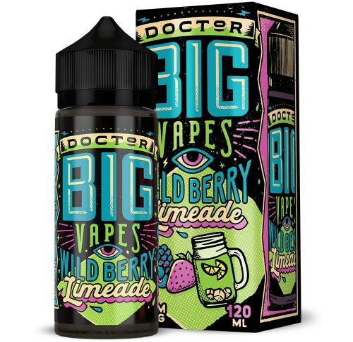 Big Bottle Co - Doctor Big Vapes Wildberry Limeade 120ml