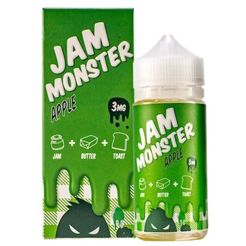 Jam Monster Juice Apple 100mL E Juice