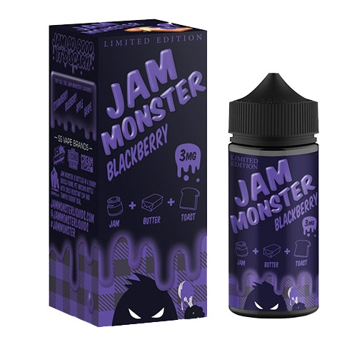 Jam Monster Juice Blackberry 100mL