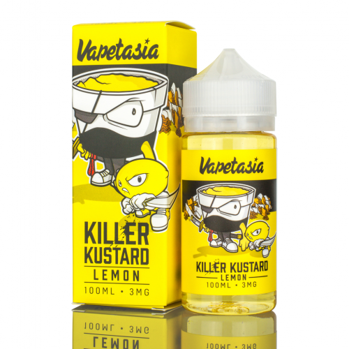 100ML E JUICE VAPETASIA KILLER KUSTARD LEMON