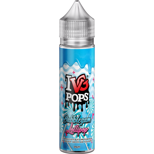 50ML E JUICE IVG POPS BUBBLEGUM LOLLIPOP