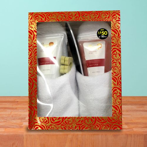 Foot Pamper Gift Pack, Hibiscus Rose