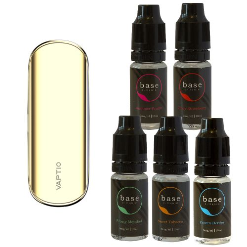 Vaptio Sleek + Base Juice Bundle