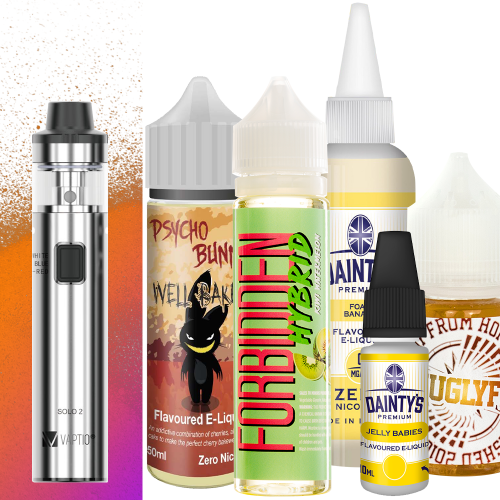 Vaptio Solo2 + 230ml Juice Bundle