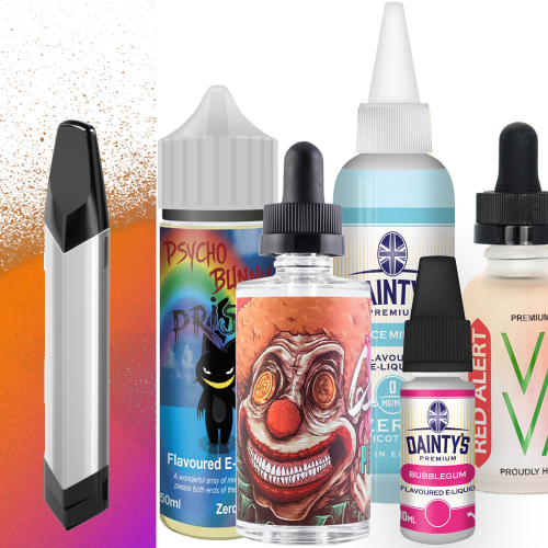 Vaptio Solo + 220ml Juice Bundle