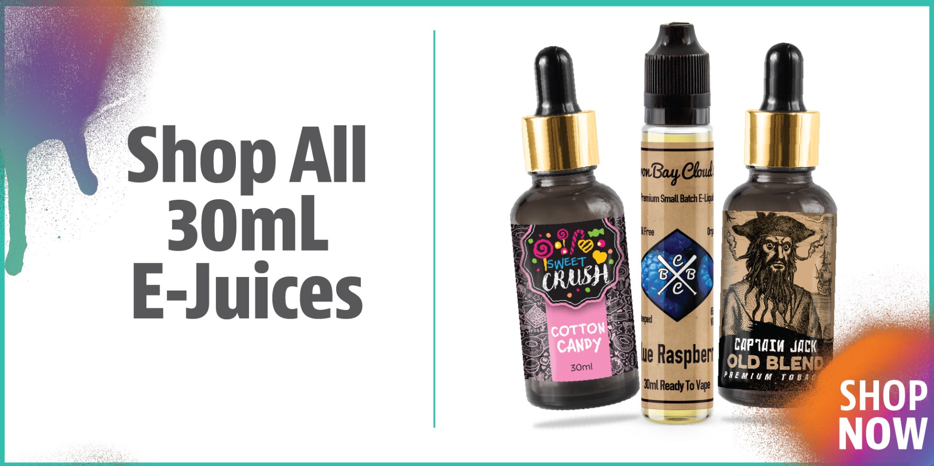 Shop 30mL Ejuices